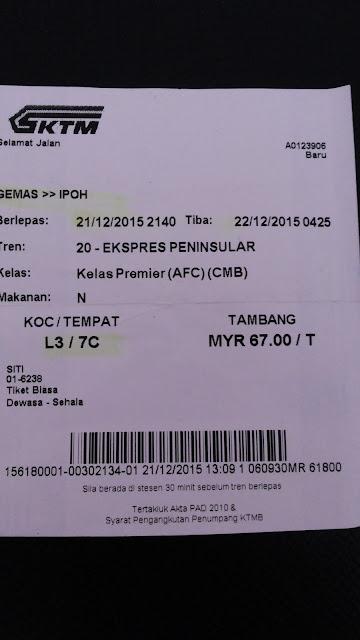 tiket keretapi