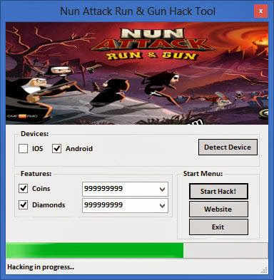 Nun Attack Run And Gun Hack