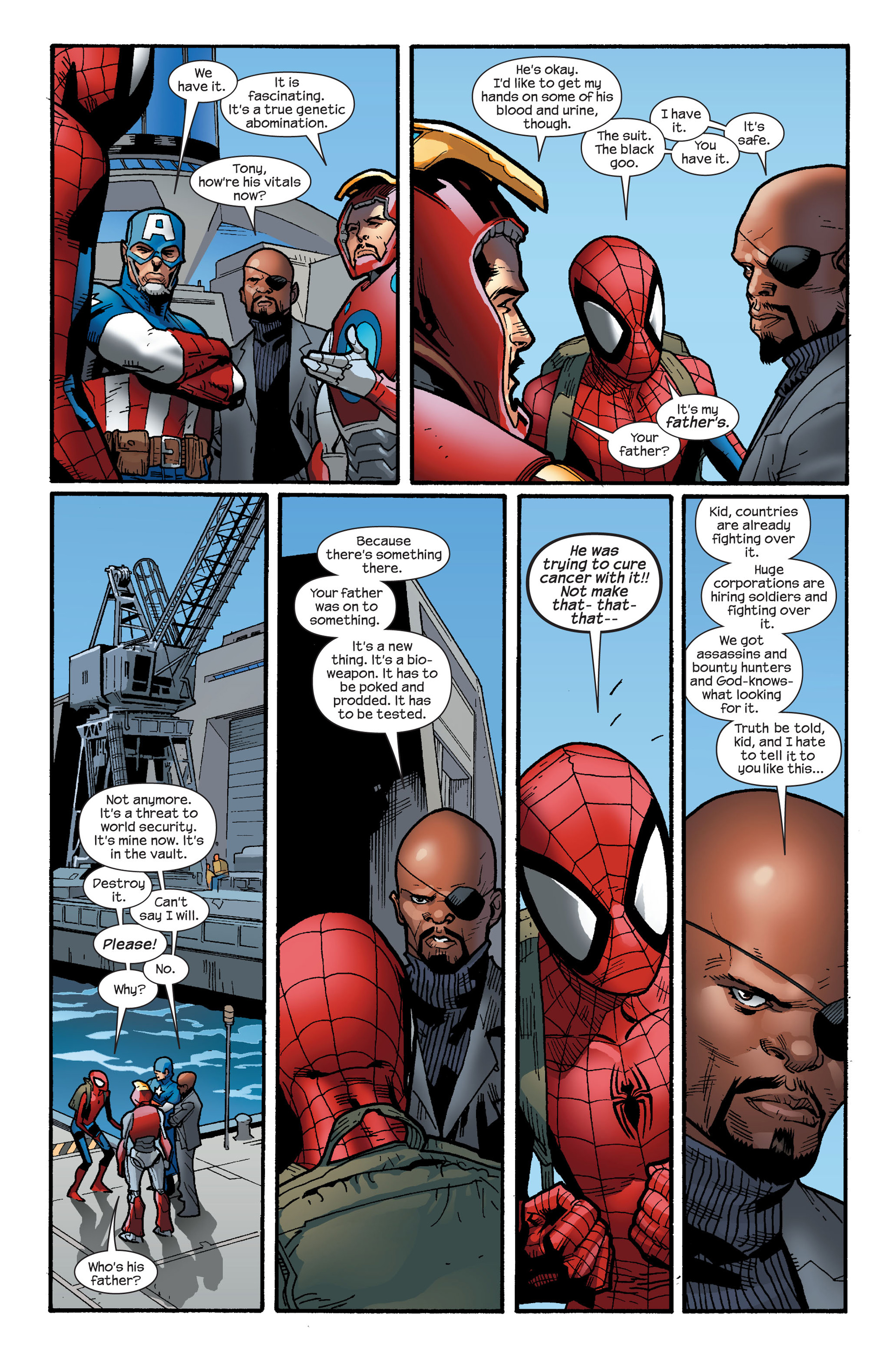 Read online Ultimate Spider-Man (2000) comic -  Issue #126 - 20