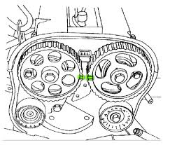 2001 Daewoo Nubira changing the timing belt ~ Manual Guide