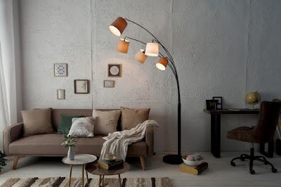 lampy Reaction, stojanové lampy, stojanové svietidlá