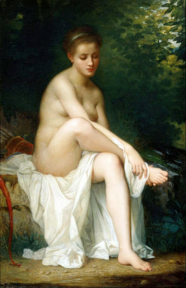Charles Zacharie Landell, Artistic nude, The naked in the art, Il nude in arte, Fine art