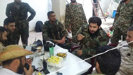 Ο νεκρός διοικητής του Συντάγματος al-Hadi, Bassel al-Assad
