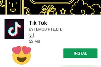 Download aplikasi Tik tok for android