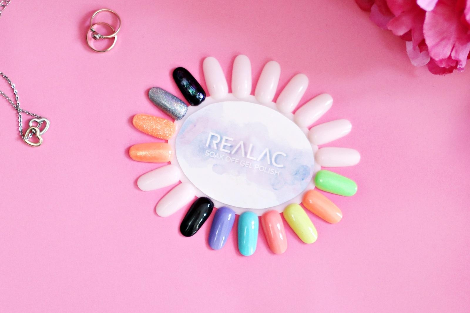 Wiosenna kolekcja lakierów hybrydowych Realac - Make The Season Bright!