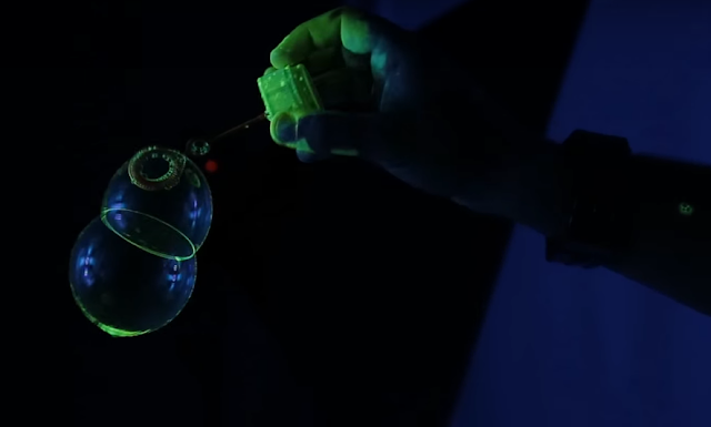 pompas, burbujas, jabon, fluorescentes, fosforitas