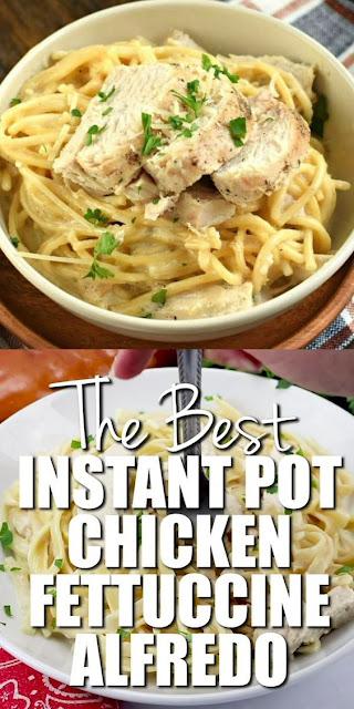 Instant Pot Chicken Fettuccine