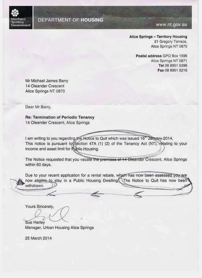 Bad Landlord Australia February 2014 - rent rebate form