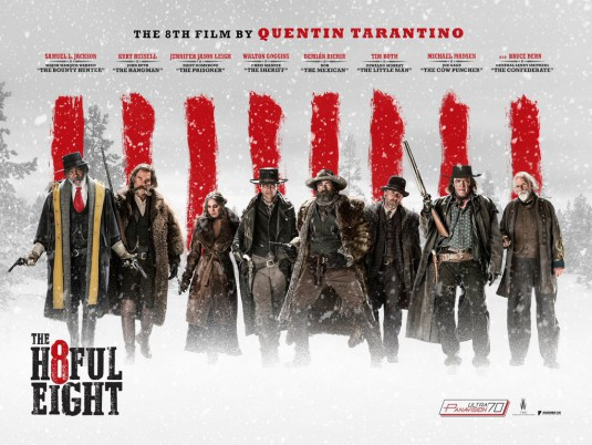 Hateful Eight film poster