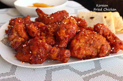 fried chicken recipes from korea korean cuisine chicken dish yangnyeom tongdak
