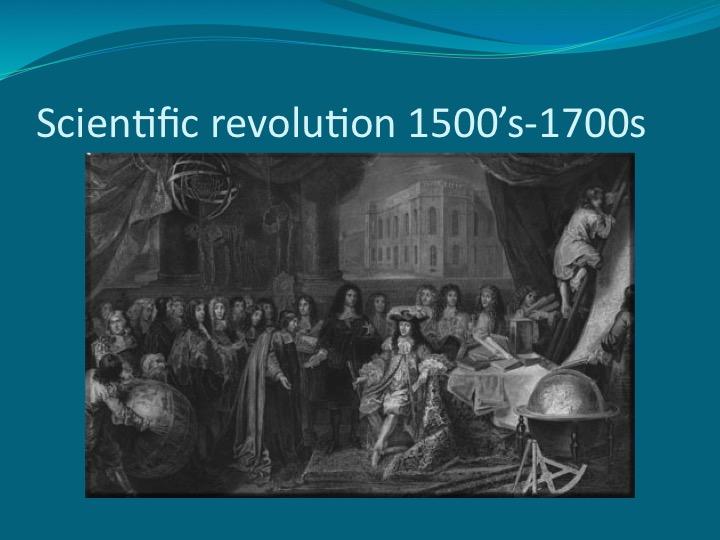 scientific revolution of 1500s-1600s essay Revolution / scientific revolution of 1500's-1600's scientific revolution of 1500's-1600's essay sample the scientific revolution changed the worlds beliefs.