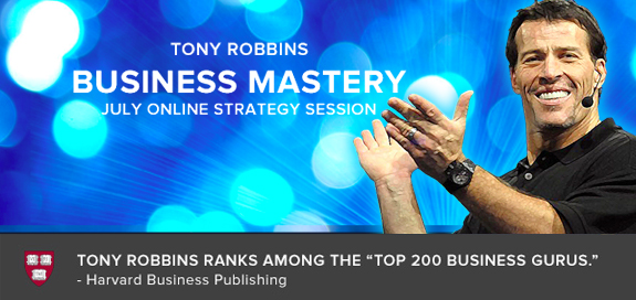 Tony Robbins Business Mastery Podcast