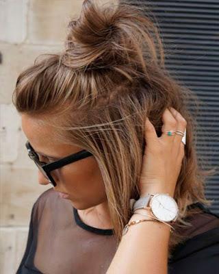 peinado moderno de moda cabello corto