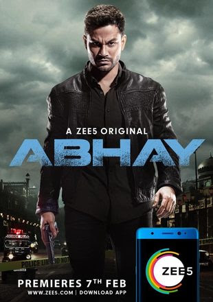 Poster Of Abhay Season 01 2019 Watch Online Free Download