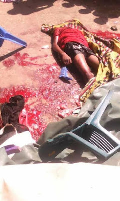 81 Three Children Crushed To Death By Female Driver Who Suffered Brake Failure In Abia (Graphic Photos)