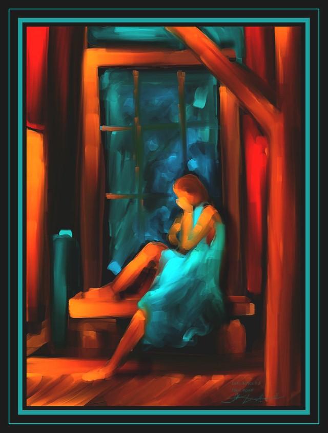 Цифровые картины. Steven Lebron Langston 2