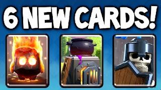 Nuove Sei Carte Clash Royale