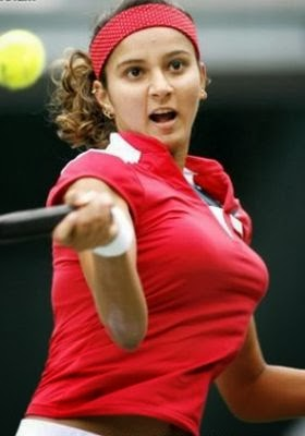 Sania Mirza - Tennis Player HD Exclusive Hot Big Boobs Photos #SaniaMirza