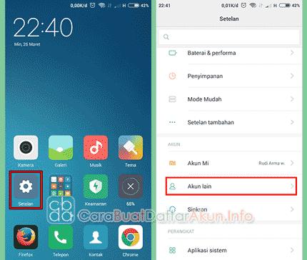 Cara Mengganti Akun Gmail Lama Dengan Yang Baru Di Android Hp Tablet