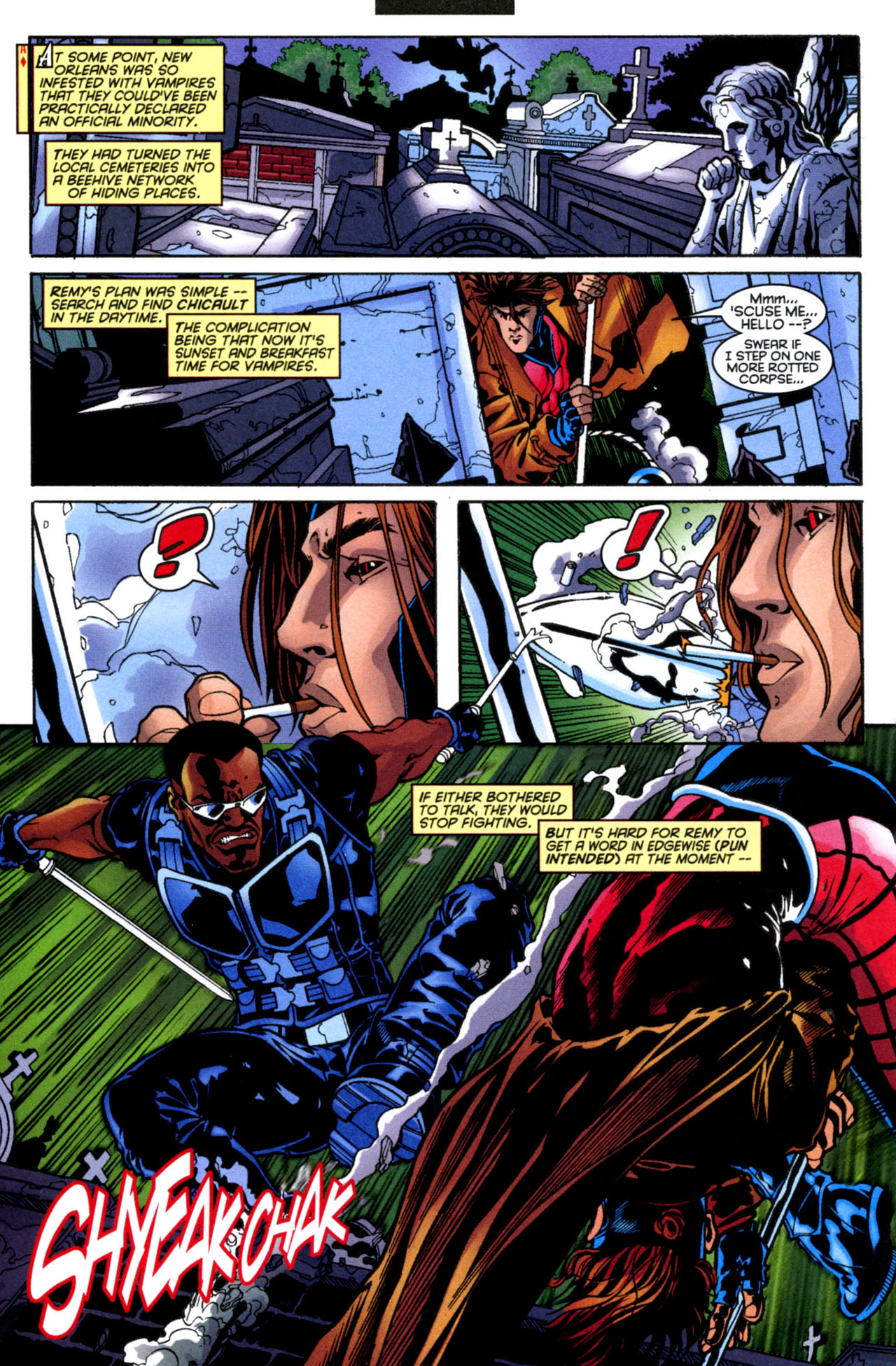 Gambit (1999) 4 Page 11