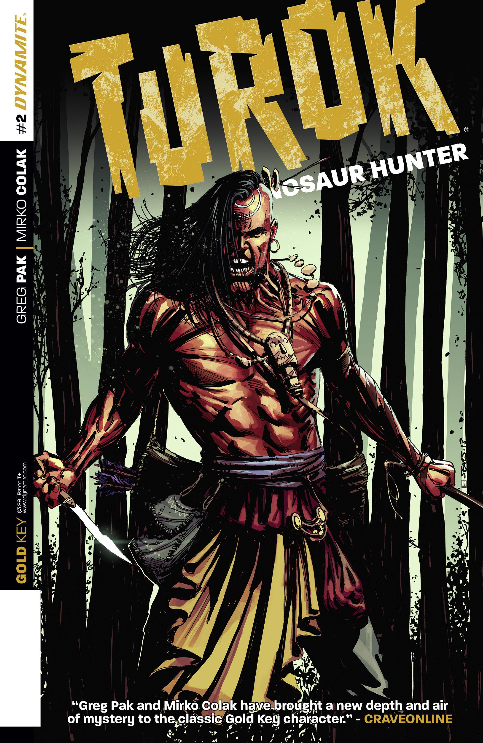 Read online Turok: Dinosaur Hunter (2014) comic -  Issue #2 - 1