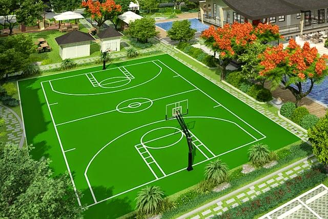 Cedar Crest Basketball Court