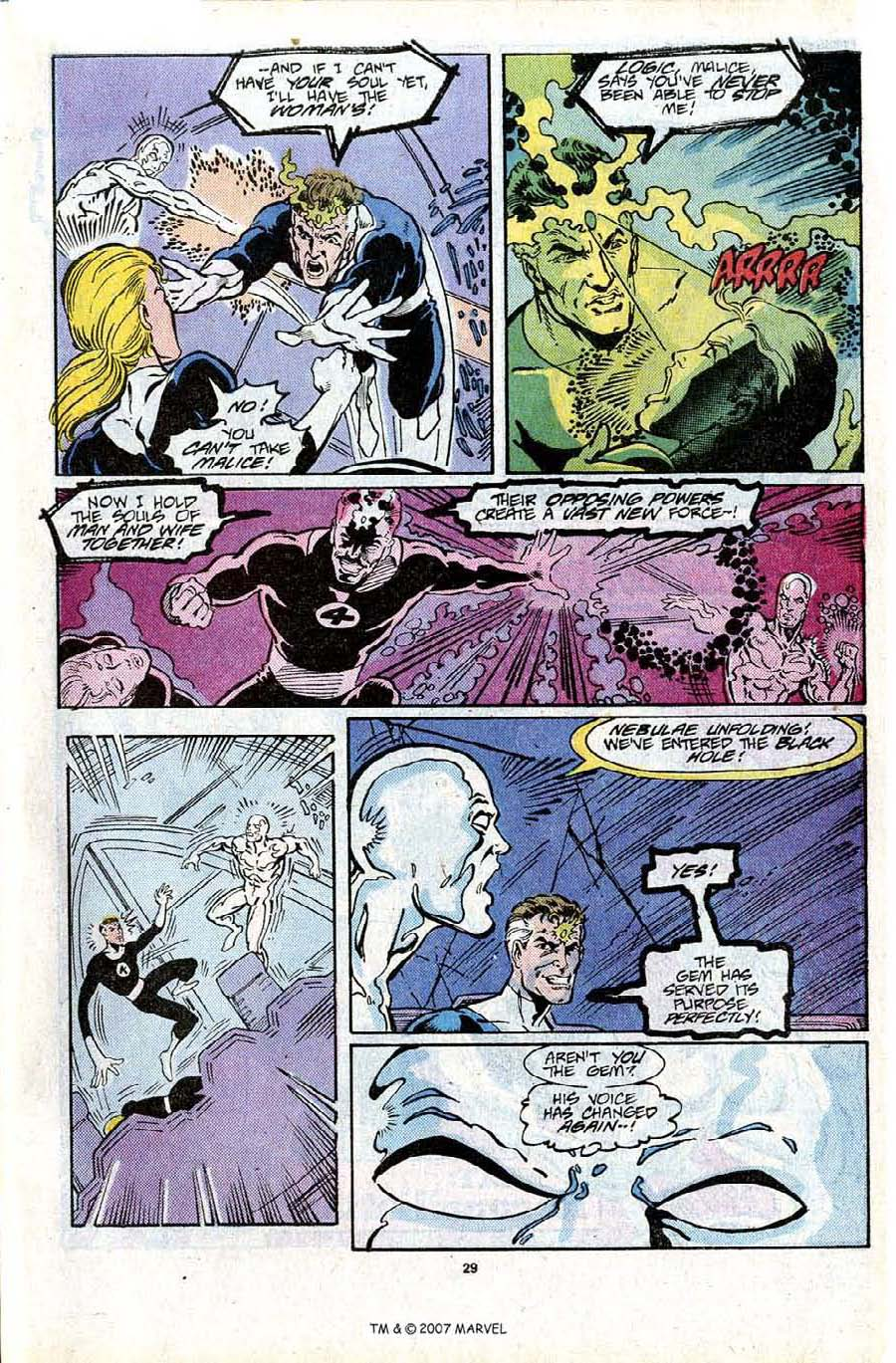 Read online Silver Surfer (1987) comic -  Issue #16 - 31