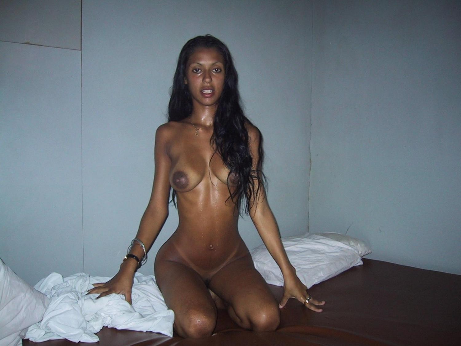 Skinny Indian Chick Erotic Bikini Tease, Dirty Indian -5432