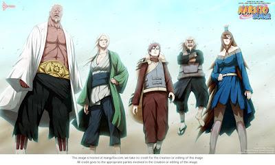 Ini Dia Daftar Kage Yang Pernah Ada Di Anime Naruto
