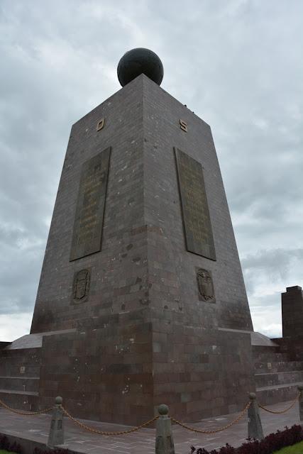 Equator line Quito
