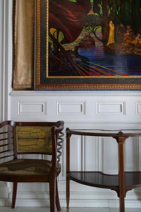 vienna vienne otto wagner villa ernst fuchs museum hütteldorf penzing salon parlor