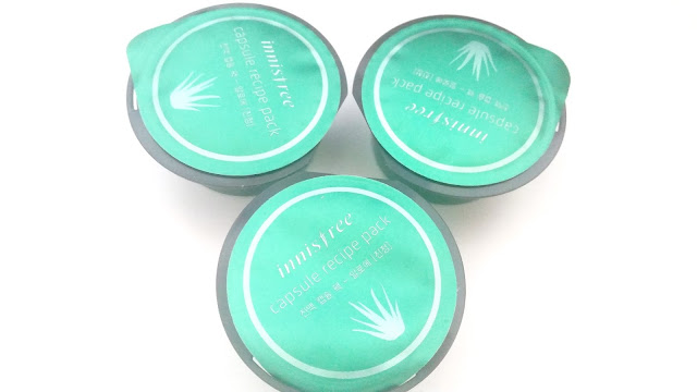 Innisfree Capsule Recipe Pack Aloe