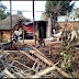 अग्निकांड मे घर जलकर राख,गरीब परिवार खुले आसमान के नीचे सोने को विवश