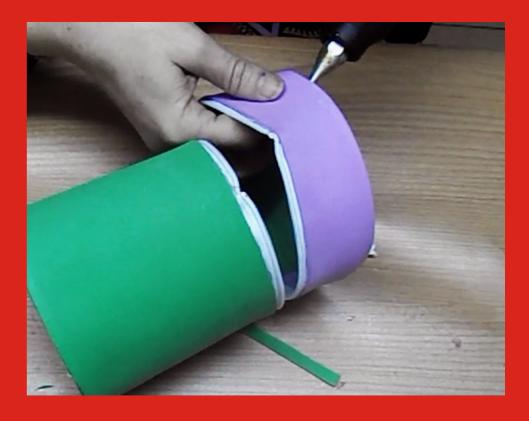 Como hacer un neceser con goma eva