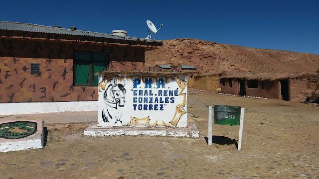 Unser PMA, das an der Grenze zu Argentinien liegende Camp.