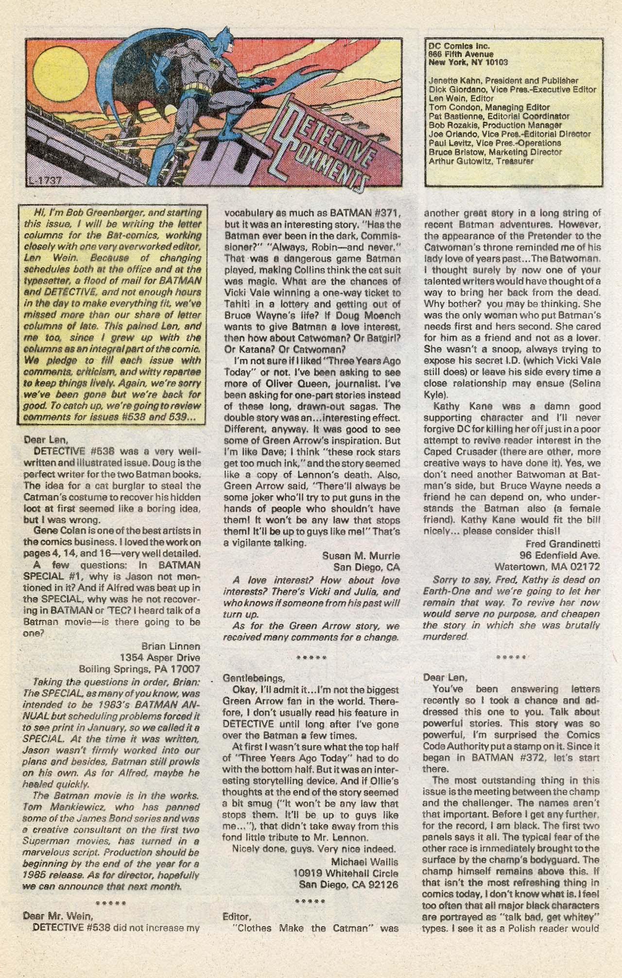 Detective Comics (1937) 543 Page 31