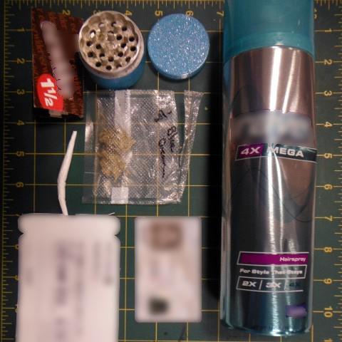 Concealed Marijuana