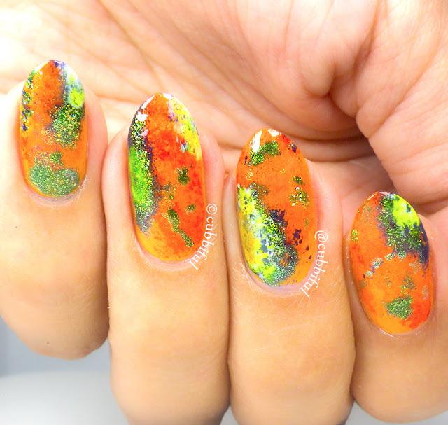 Fractal Galaxy Nails