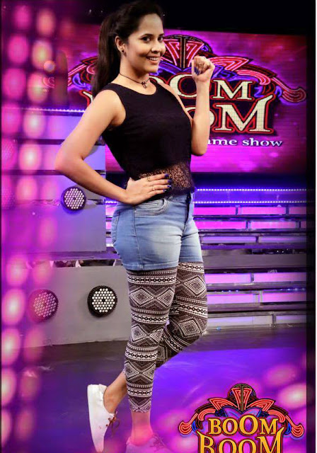 Anchor Anasuya in Latest Boom Boom Show Photos