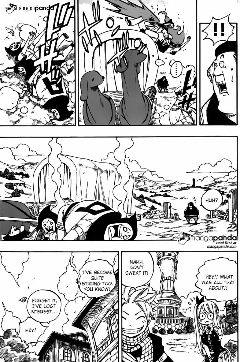 Fairy Tail Ch 420: Lamia Scales Thanksgiving
