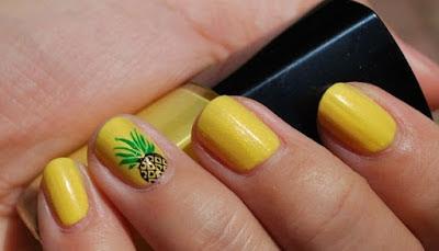 Yellow Nail Polish Art Designs and Ideas | Art Designs and Ideas