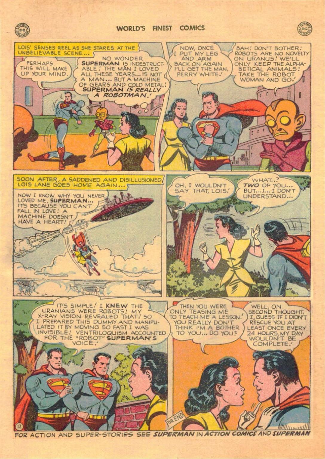 Read online World's Finest Comics comic -  Issue #42 - 14
