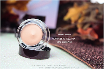 review morning glory POTION PARADISE OMBRETTI CREMA NABLA CREME SHADOW