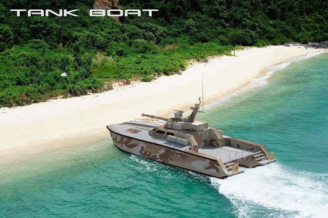 X18 Tank Boat دولة في شمال إفريقيا مهتمة بشراء الزورق الدبابة
