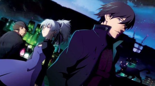 Anime dengan Karakter Utama Cool Darker Than Black