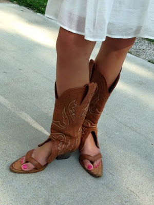 Redneck Boot Sandals