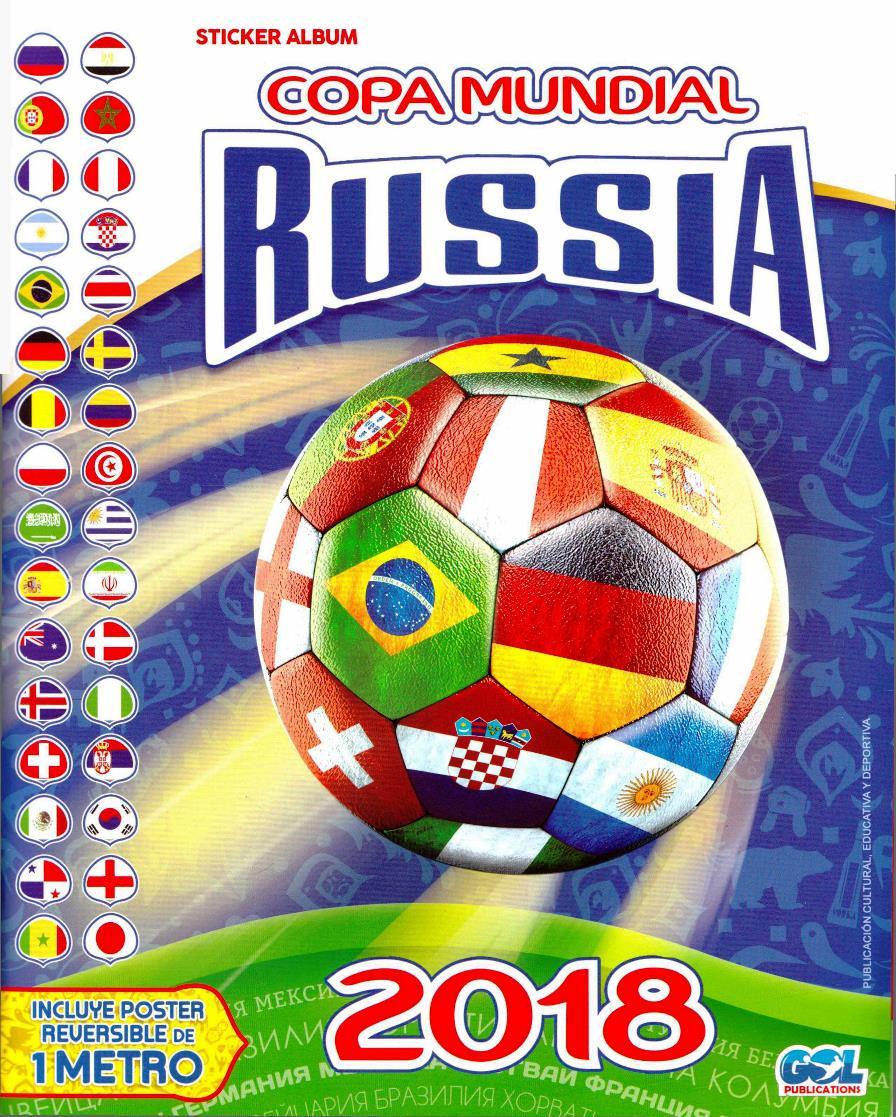 Álbum Copa del Mundo Rusia 2018 – Gol Publications [RARE]