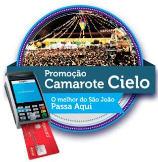 Cadastrar Promoção Cielo 2017 Camarote São João Caruaru