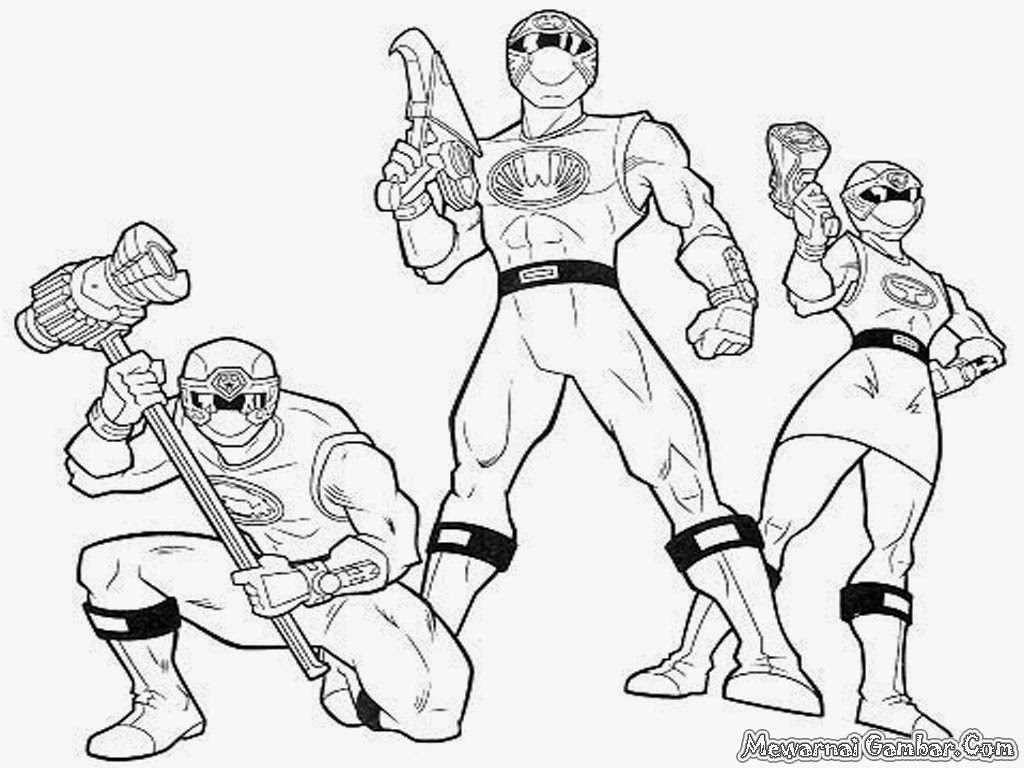 Free Coloring Pages Of Time Force Rangers