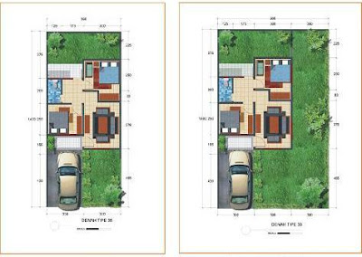 Figure Plan Houses Minimalist Type 36